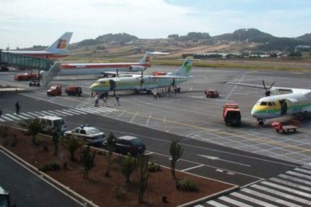 Los aeropuertos de Tenerife